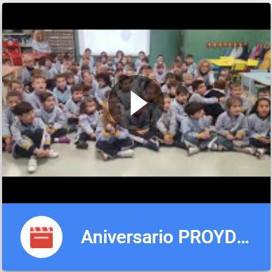 Vídeo Aniversario PROYDE en EI Desamparados